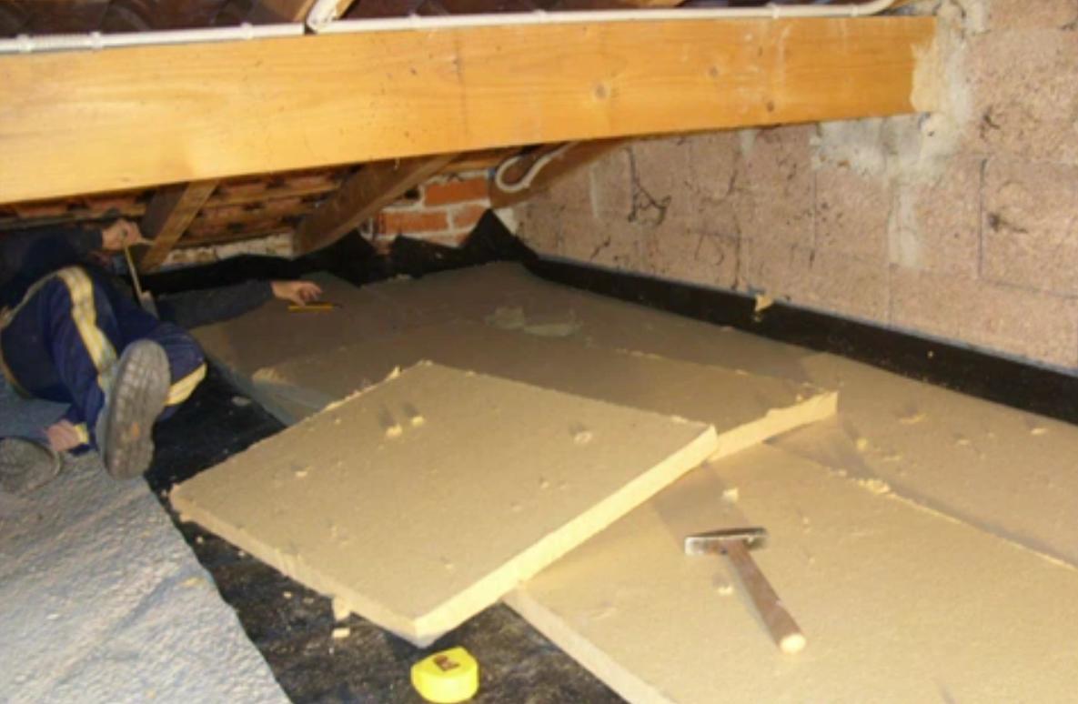 Isolamento ultimo solaio sottotetto pannelli rigidi - Isolare il tetto dall interno ...