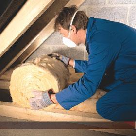 Posa isolante termico sottotetto in rotoli - Pannelli isolanti per sottotetto ...