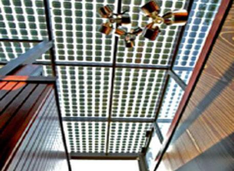 Fotovoltaico integrato nell 39 architettura novit e prospettive - Finestre con pannelli solari ...