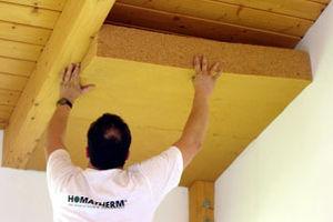 Isolare sottotetto dall interno fibra di ceramica isolante - Isolare il soffitto dall interno ...
