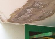 Infiltrazioni d\'acqua terrazzo o tetto